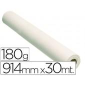 Papel reprografia glossy 914 mm x 30 mts