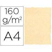 Papel pergaminho michel dina4 160 gr cor pergaminho creme pack de 25 folhas