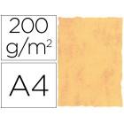 Papel pergaminho michel dina4 200 gr cor marmore amarelo pack de 25 folhas