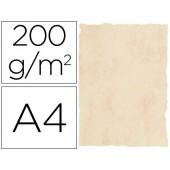 Papel pergaminho michel dina4 200 gr cor marmore bege pack 25 folhas