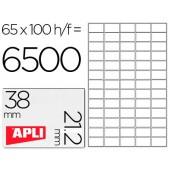 Etiquetas adesivas apli 1283 tamanho 70x35 mm -fotocopiadora -laser -tinteiro-caixa com 100 folhas din-a4