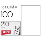 Etiquetas adesivas a4. apli. 210 x 297 mm