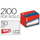 Etiqueta adesiva apli 1682 tamanho 13x50 mm em rolo de 2100 unidadees