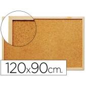 Quadro de cortica q-connect com caixilho em madeira 1200 x 900 mm