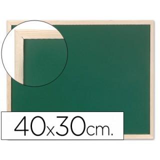Quadro verde q-connect caixilho madeira 40x30 cm