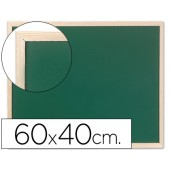 Quadro verde q-connect caixilho madeira 60x40 cm
