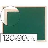 Quadro verde q-connect caixilho madeira 120x90 cm