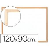 Quadro em melamina q-connect c/ caixilho em madeira. 1200 x 900 mm