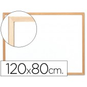 Quadro branco q-connect c/caixilho made ira 120x90 cm