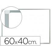 Quadro em melamina q-connect c/caixilhoem aluminio. 600 x 400 mm