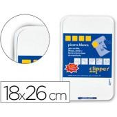 Quadro branco clipper 18x26cm.com marcador