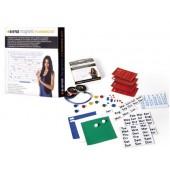 Kit planificaçao bi-office com acessorios magneticos e adesivos reutilizaveis