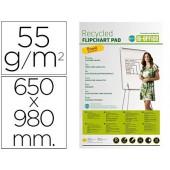 Bloco congresso bi-office papel reciclado 55 grs 650x980 mm
