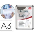 Marco porta anuncios nobo clipdown din a3 marco de aluminio con cantoneras 33.5x45.8x1.7 cm