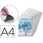 Bolsa de apresentaçao tarifold adesivarigida e anti reflexo din a4 pack 5 unidades