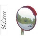 Espelho de segurança acrilico com braço articulado em aço galvanizado 60mm