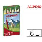 Lapis de cores alpino. 6 unidades