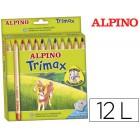 Lapis de cores trimax alpino. 12 unidades