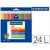 Lapis de cores noris club slim 24 unidades