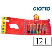 Lapis de cores giotto bebe. 12 unidades