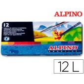 Lapis de cores alpino masats 12 unidades