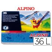 Lapis de cores alpino masats 36 unidades