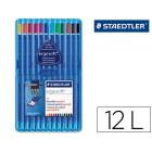 Lapis de cores staedtler ergosoft 12 unidades