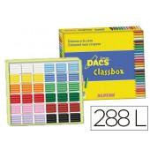 Lapis de cera dacs classbox caixa de 288 unidades 12 cores sortidas