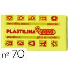 Plasticina jovi 70 pastilha 50 grs amarelo claro