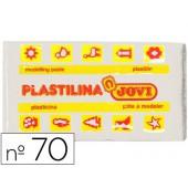 Plasticina jovi 70 pastilha 50 grs branca