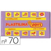 Plasticina jovi 70 pastilha 50 grs lilas