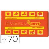 Plasticina jovi 70 pastilha 50 grs laranja