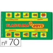 Plasticina jovi 70 pastilha 50 grs verde claro