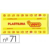 Plasticina jovi 71 media. 150 grs amarelo claro