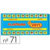 Plasticina jovi 71 media. 150 grs azul claro