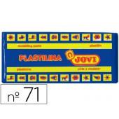 Plasticina jovi 71 media. 150 grs azul-escuro
