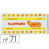 Plasticina jovi 71 media. 150 grs branca