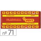 Plasticina jovi 71 media. 150 grs castanho