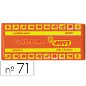 Plasticina jovi 71 laranja -unidade -tamanho medio