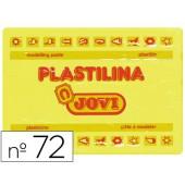 Plasticina jovi 72 grande. 350 grs amarela claro