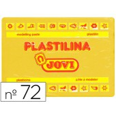 Plasticina jovi 72 grande. 350 grs amarela escuro