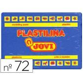 Plasticina jovi 72 grande. 350 grs azul-escuro