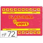Plasticina jovi 72 grande. 350 grs rubi