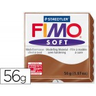 Pasta para modelar staedtler fimo soft 56 gr cor caramelo