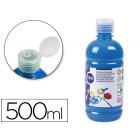 Guache escolar liderpapel 500 ml azul cian