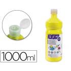 Guache escolar liderpapel 1000 ml amarelo primario
