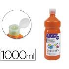 Guache escolar liderpapel 1000 ml laranja