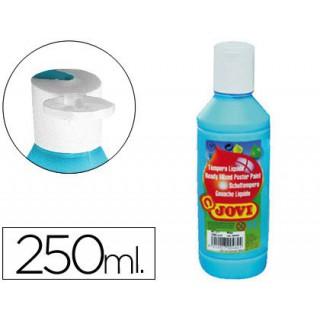 Guache liquido jovi 250 ml -azul cyan