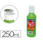 Guache liquido jovi 250 ml -verde medio