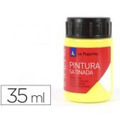 Tinta latex la pajarita. 35 ml - amarelo limao